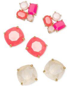 kate spade new york Stud Earrings - Fashion Jewelry - Jewelry - Macy's