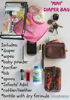 Mini Diaper Bag and Purse Essentials for New Mom - Prada Corsaire Bag - Ideas of Prada Corsaire Bag - Mini Diaper Bag and Purse Essentials for New Mom Mini Diaper Bag, Diaper Bag Purse, Diaper Bag Backpack, Diaper Bags, Baby Essential List, What's In My Purse, Diaper Bag Essentials, Minimalist Bag, Autos