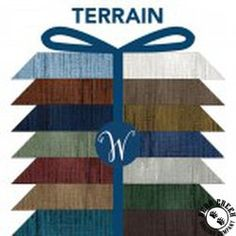 Terrain by Whistler Studios for Windham Fabrics Terrain by Whistler Studios features a great texture Cotton Quilting Fabric, Applique Quilts, Whistler, Fat Quarters, Studios, Palette, Windham Fabrics, Aesthetic Colors, Quilt Patterns Free