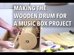 Making a Tambour-Style Drum for a Music Box | Woodworking |Videos | Plans | How To
