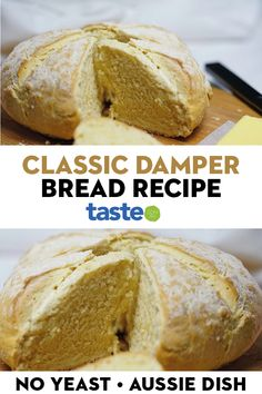Celebrate Australia Day with this traditional home-made bread. Canned Pumpkin Pie Filling, Bread Twists, Australian Food, Dinner Rolls, Outdoor Cooking, No Bake Desserts, Tray Bakes, Bread Recipes, Easy Meals