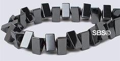 Magnetic Hematite 7x7 Triangle AAA Grade