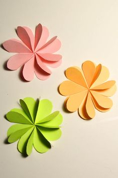 Simple Cool Flowers Paper Tutorial DIY I will show you how to make these cool flowers quickly and easily. Flower size can change at their discretion. Flowers are great to decorate any card, box or can be used as decor in the room. I wish you pleasant viewing!