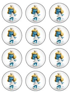 1 Bottle Top Crafts, Troll Party, Smurfette, Best Planners, Bottle Cap Images, Ideas Para Fiestas, How To Make Bows, Baby Boy Shower, Silk Flowers