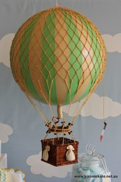 Vintage Hot Air Balloon Party