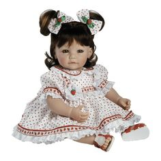 "Adora Baby Doll, 20 inch ""Strawberry Fields"" Brown Hair/G... https://www.amazon.com/dp/B004TY2OX4/ref=cm_sw_r_pi_dp_x_XZFyybBCTCW69"