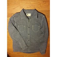 The Engenieer work shirt japanese hickory denim by by Amerikano