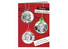 Weihnachtskarte Red Christmas