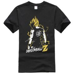Hillbilly Dragon Ball Z WUKONG Super SAIYAN With Full Force Printed T-shirt