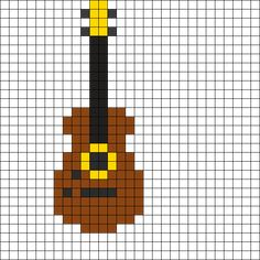 Guitar by MinecraftBrat002 on Kandi Patterns