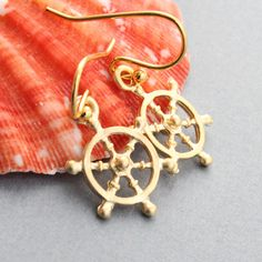 Handmade nautical jewelry including coastal earrings, nautical necklaces and more. Find something special inspired by sandy shores. Nautical Earrings, Nautical Jewelry, Etsy Earrings, Silver Earrings, Silver Jewelry, Women Accessories, Jewelry Accessories, Nautical Outfits, Shoe Gallery