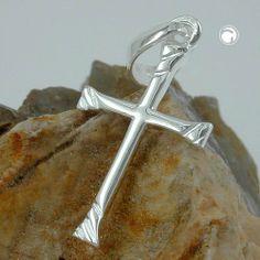 Anhänger, Kreuz glänzend, Silber 925 Dreambase, http://www.amazon.de/dp/B00H2IJPTA/ref=cm_sw_r_pi_dp_3iUitb0G1Q49G