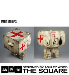 RESIN SQUARE 1:1 — World Of 3A
