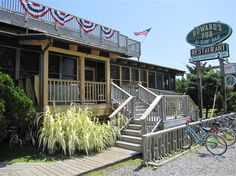 Our favorite restaurant in Ocracoke Island, NC. It takes a fun 40 min ferry ride to get there, but we try to go at least once a vacation.