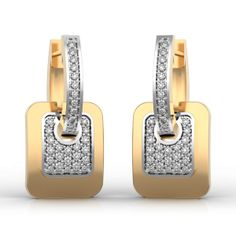 Best Online Diamond Jewellery store in India. Diamonds And Gold, Gold Earrings, Cufflinks, Wedding Rings, Jewels, Jewellery, Bride, Random, Pants