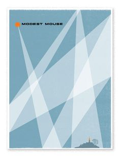 Modest Mouse. Tour poster for Modest Mouse. 18 x 24 in. Like 46 colors.