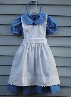 Hey, I found this really awesome Etsy listing at http://www.etsy.com/listing/155470721/girl-size-45-alice-in-wonderland-costume