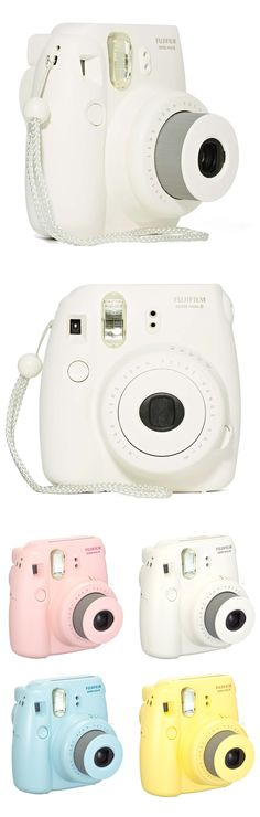 Fujifilm Instax Mini 8 Instant Polaroid Camera - white #product_design #industrial_design