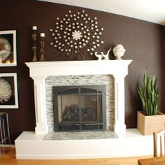 Tile Fireplaces Design Ideas, Pictures, Remodel, and Decor - page 4