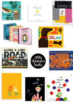 10+ artsy children's books - mint