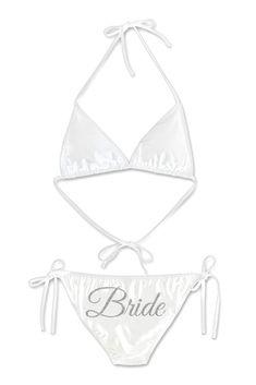 Glitter Print Bride Bikini Style DBK-SW-BR