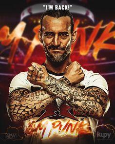 Cm Punk Return, Mobile Wallpaper, Wrestling, Fan Art, Statue, Couples, Poster, Instagram, Division