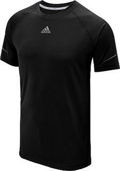 adidas Men's Climacool Run Short-Sleeve T-Shirt