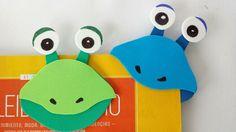 ¿Qué te parece elaborar este divertido marcapáginas con tu peque, y motivar así un poquito más su interés por la lectura? ¡Apunta todos los pasos! Yoshi, Bookmarks, Origami, Preschool, Watercolor, Crafty, Creative, Kids, Google