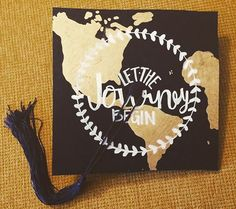Pin for Later: 43 DIY Graduation Cap Ideas That Will Majorly Inspire You