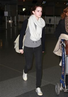 The Classic Trainer: Get Emma Watson's Look: Converse, $60; converse.com