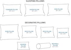 Size Matters! (For your pillows) - Au Lit Fine Linens