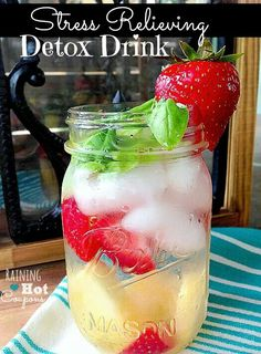 Stress relief detox drink