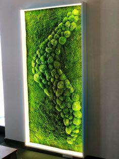 Moss Wall Art, Moss Art, Green Wall Decor, Green Wall Art, Mural Wall Art, Diy Wall Art, Artificial Plant Wall, Fleur Design, Moss Garden