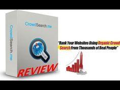 Crowd Search Me Review   +Bonuses - http://www.highpa20s.com/link-building/crowd-search-me-review-bonuses/