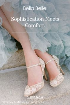 Sophisticated wedding shoes in nude lace embroidery with an ankle strap. These shoes are made for walking while being extremely stunning. Sophisticated Wedding, Wedding Heels, Walking Down The Aisle, Lace Embroidery, Ankle Strap, Shop Now, Nude, Photography, Shopping