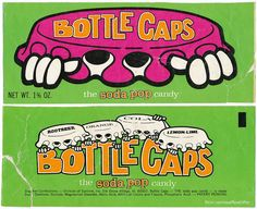 Bottle Caps Candy - 1972 / 1973 by Waffle Whiffer, via Flickr