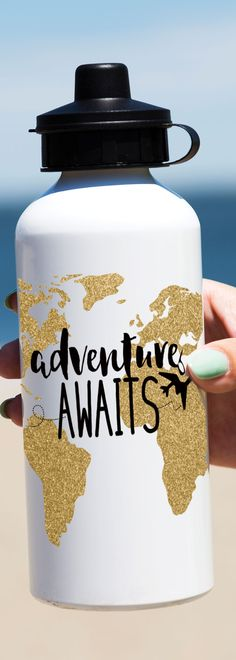 When traveling always keep hydrated and why not tell everyone where you want to travel... EVERYWHERE. Checkout out a new part of our brand, Chalk Talk life. Apparel and Accessories Galore. We Have Gifts For everyone Mom, Dad, Brother, Sister, Grandpa, Grandma, Aunt, Uncle. We Also have gifts for all occasions, Birthdays, Weddings, Graduations, Births. Check it out by clicking the Pin.  #travel #waterbottles #life #summer #gifts