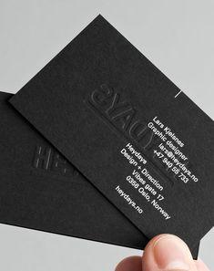 Heydays Business Cards - Branding Design Identity