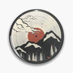 """Radio"" Pin by JuliaFaranchuk | Redbubble One Design, Custom Design, Retro Radios, Badge Design, Badges, Retro Fashion, Buttons, Cool Stuff, Artist"