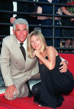 """Barbra Streisand's Life In Pictures    Barbra Streisand married actor James Brolin in July 1998, two years after they'd met at a friend's dinner party. """"He charmed me when he was courting me."""
