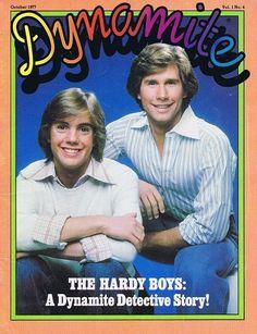 Dynamite magazine - and The Hardy Boys!  Shawn Cassidy.  Wow.