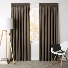 Haven Donkey - Readymade Thermal Pencil Pleat Curtain - Curtain Studio buy curtains online