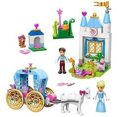 LEGO Juniors Cinderellas Carriage 10729 Toy for 4YearOlds ** You can find more details by visiting the image link. (This is an affiliate link)