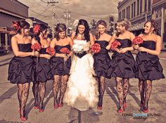 Rockstar Wedding-replace red with purple
