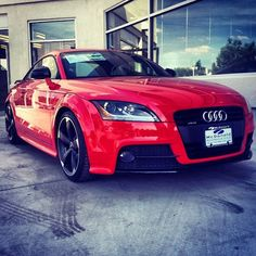 2014 Audi TT. in RED!! http://www.dchaudioxnard.com/new-inventory/index.htm