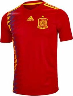 787d3693932 2018 adidas Spain Home Jersey! The perfect holiday gift. Get it from  SoccerPro now