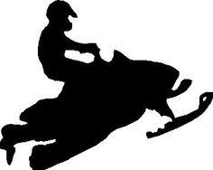 snowmobile stencil - Google Search