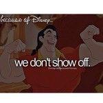 Because of Disney- B&B