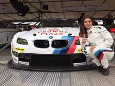 Cyndie Allemann is a pro race car driver and TV host. She has been racing for 20 years in Europe (Le Mans, GT3, FIA-GT1, F3, etc), in the USA (Indy Lights) and in Japan (Super GT).