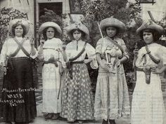 z- Las Adelitas - Women of Mexican Revolution -2b
